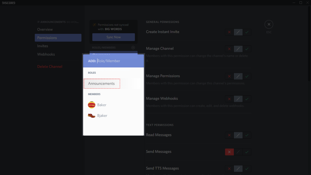 How to set up an announcements channel? – Discord